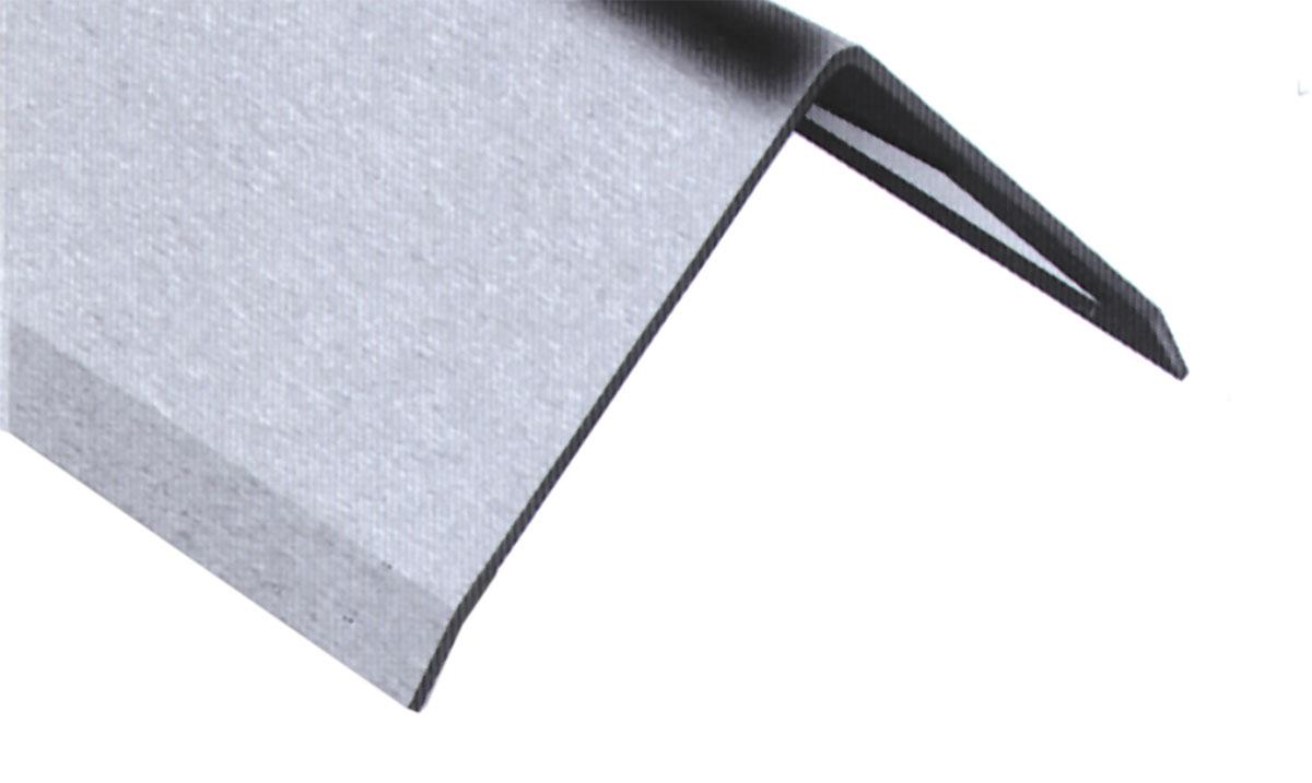 3fach Winkelblech 3-fach gekantet Winkelprofil Edelstahl K240,1,5mm stark Kantenschutz Wand Kantenschutzprofil 1 Meter Edelstahl Winkel